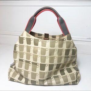 Orla Kiely Bags - Orla Kiely Coffee Tea Cup Tote Bag